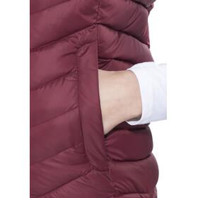 Peak Performance Frost Down Vest Women Cabernet